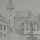 """DZ04 – """"Arnsberg"""" 23,5×31,5 I Bleistift auf Pappe (1977)"""