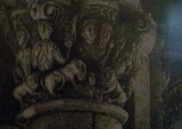 """DZ07 – """"Romanische Säule"""" 19×23 I Bleistift auf Papier (1978)"""