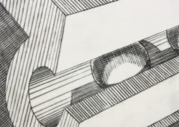 """DZ17 – """"Ohne Titel"""" 15×20 I Kupferstich (1999)"""