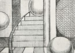 """DZ21 – """"Ohne Titel"""" 20×25 I Kupferstich (2001)"""
