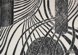 "DZ23 – ""Ohne Titel"" 20×15 I Linolschnitt (2001)"
