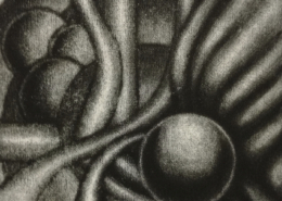 "DZ26 – ""Ohne Titel"" 10×10 I Mezzotinto (2002)"