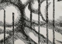"DZ27 – ""Ohne Titel"" 24×36 I Lithografie (2002)"