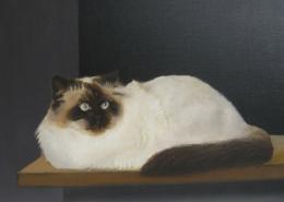 """P04 – """"Joschi"""" 60x50cm I Öl auf Leinwand (1990)"""