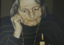 "P07 – ""Anita"" 30x40cm I Öl auf Leinwand (1998)"