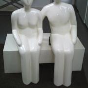 "PS03 – ""Sitzende"" 105x70x120cm I Styropor mit Kunststoff (2011)"