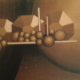Raumbild 01 - 100x120cm I Öl auf Leinwand (1979)