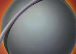 Raumbild 02 - 70x70cm I Öl auf Leinwand (1993)