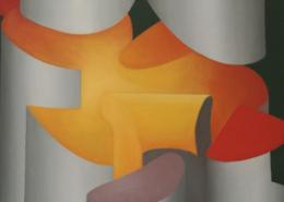 Raumbild 03 - 50x60cm I Öl auf Leinwand (1993)