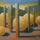 Raumbild 06 - 70x60cm I Öl auf Leinwand (1997)