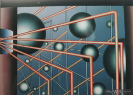 Raumbild 07 - 100x80cm I Öl auf Leinwand (1992)