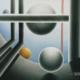 Raumbild 08 - 100x80cm I Öl auf Leinwand (1997)