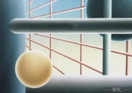 Raumbild 09 - 100x80cm I Öl auf Leinwand (1998)