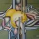 Raumbild 10 - 100x80cm I Öl auf Leinwand (1998)