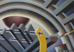 Raumbild 12 - 110x90cm I Öl auf Leinwand (2000)