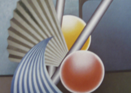 Raumbild 14 - 97x129cm I Öl auf Leinwand (2001)
