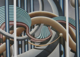 Raumbild 16 - (3x) 100x120cm I Öl auf Leinwand (2002/2003)