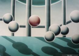 Raumbild 17 - 100x120cm I Öl auf Leinwand (2004)
