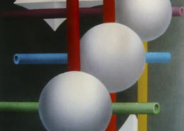 Raumbild 21 - 90x130cm I Öl auf Leinwand (2011)