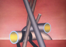 Raumbild 26 - 80x90cm I Öl auf Leinwand (2014)