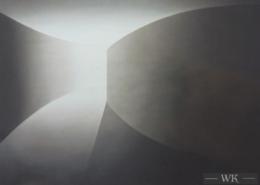 Raumbild 28 - 100x80cm I Öl auf Leinwand (2015)