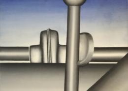"""W11 – """"Ohne Titel"""" 37x37cm I Öl auf Leinwand (1979)"""
