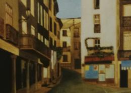 """W22 – """"Frankreich"""" 24x36 I Öl auf Leinwand (1994)"""