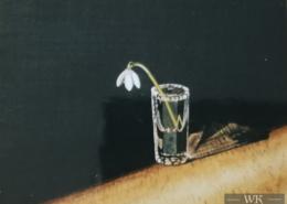 "W25 – ""Maiglöckchen"" 30×24 I Öl auf Leinwand (1998)"