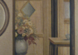"""W28 – """"Herbststrauß"""" 30×40 I Öl auf Leinwand (2001)"""