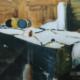 """W31 – """"Ohne Titel"""" 20×30 I Acryl auf Papier (2002)"""