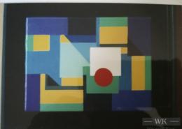 """W34 – """"Ohne Titel"""" 30×40 I Öl auf Leinwand (2004)"""