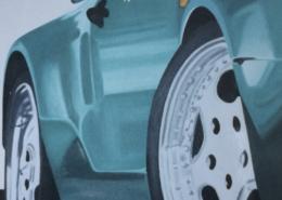 """W37 – """"Speed"""" 140×160 I Öl auf Leinwand (2007)"""