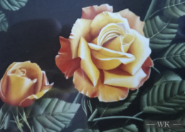 "W39 – ""Rose"" 29×24 I Öl auf Leinwand (2009)"
