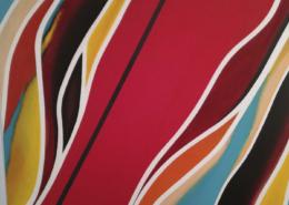 """W40 – """"Ohne Titel"""" 80×70 I Öl auf Leinwand (2009)"""